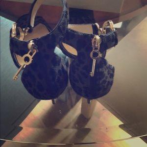 Jimmy Choo stiletto heels, worn three times.